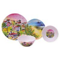 222 Fifth Sage 12-Piece Dinnerware Set