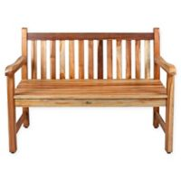 EcoDecors™ Hampstead Heath Solid Teak Garden Bench
