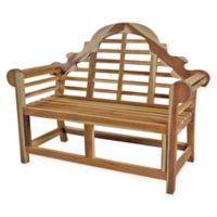 EcoDecors™ Canterbury Garden Solid Teak Garden Bench