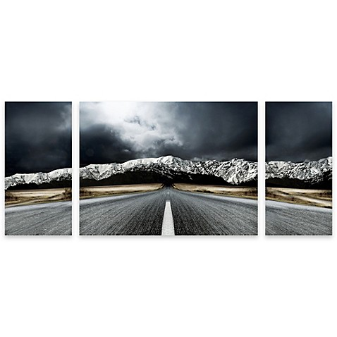 open road panel art - bed bath & beyond