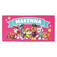 Paw Patrol™ Patrol Pawfect Pals Beach Towel in Pink