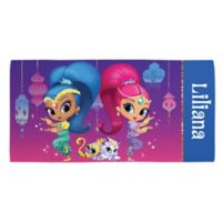 Shimmer and Shine™ Beach Towel in Purple