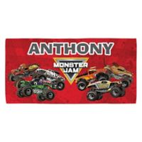 Monster Jam® Madness Beach Towel