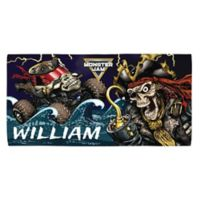 Monster Jam® Pirate's Curse Beach Towel