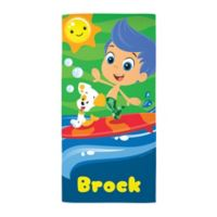 Bubble Guppies Surf Beach Towel