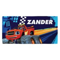 Blaze and the Monster Machines Beach Towel