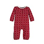Burt's Bees Baby® Size 0-3M North Star Coverall in Red