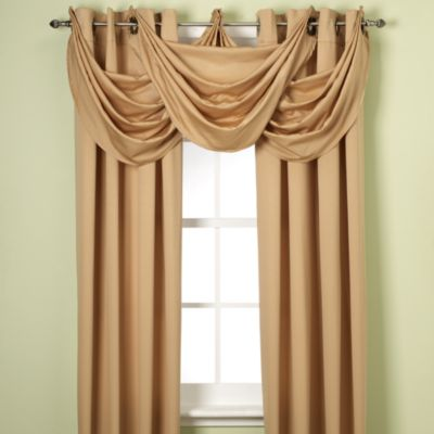 Buy Gold Window Treatments Valances From Bed Bath Amp Beyond