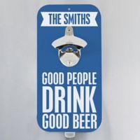 Beer Quotes Magnetic Bottle Opener