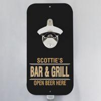 Open Beer Here Magnetic Bottle Opener