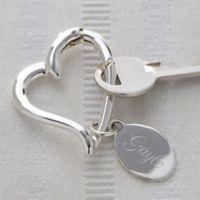 My Open Heart Keychain