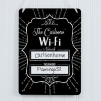 Wifi Password Dry Erase Sign