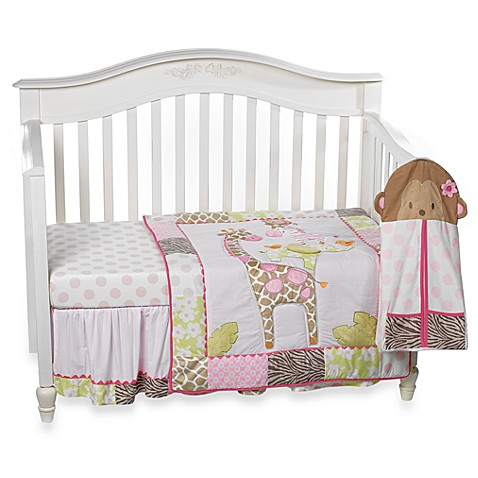 Carter S 174 Jungle Jill 4 Piece Crib Bedding Set Bed Bath