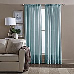 Wamsutta® Sheer 95-Inch Window Curtain Panel in Blue