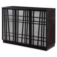 Scott Living 3-Door Accent Cabinet in Cappuccino