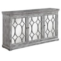 Scott Living Accent Cabinet in Antique Grey