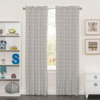 SolarShield® Kids Best Friend 84-Inch Rod Pocket Room-Darkening Window Curtain Panel in Grey