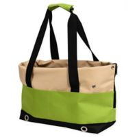 Iconic Pet Sports Handbag Carrier in Lime