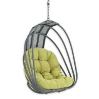 Modway Whisk Patio Swing Chair Without Stand in Peridot