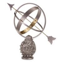 Good Directions Sun and Moon Armillary Sundial in Aluminum