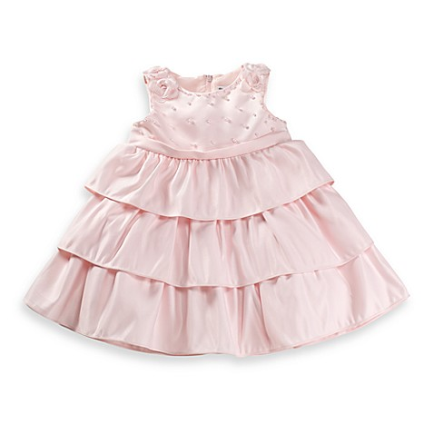 Dorissa Carly Size 4T Pearl Dress in Pink