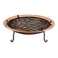 Good Directions Large Copper Fire Pit with Spark Screen