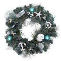 Winter Wonderland 24-Inch Coastal Wreath