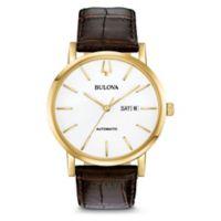 Bulova Men's 42MM Classic 97C107 Automatic Watch