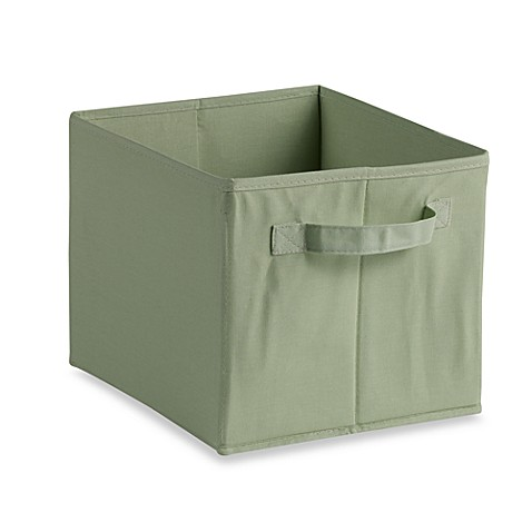 Storage Decor Collapsible Tote in Green