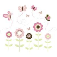WallPops!® Butterfly Flowers Wall Art Kit