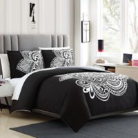 Devin 3-Piece Reversible Twin/Twin XL Duvet Cover Set