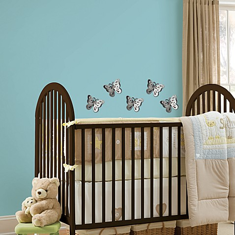 Wallpops 174 3d Butterfly Wall Mirror Art Bed Bath Amp Beyond