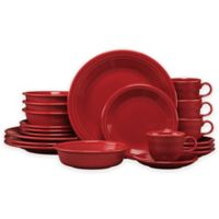 Fiesta® 20-Piece Dinnerware Set in Scarlet
