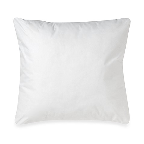 Make-Your-Own-Pillow Square Throw Pillow Insert - Bed Bath & Beyond