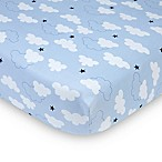 carter's® Take Flight Fitted Crib Sheet in Blue