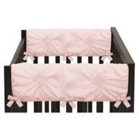 Sweet Jojo Designs Harper Short Rail Guards in Pink (Set of 2)