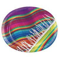 Creative Converting 24-Pack Serape Oval Plates