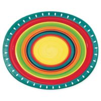 Creative Converting 24-Pack Summertime Stoneware Oval Plates