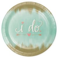 Creative Converting 24-Pack Mint To Be Banquet Paper Plates in Mint