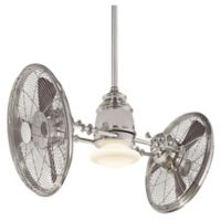 Minka-Aire® 42-Inch Vintage Gyro Ceiling Fan in Polished Nickel
