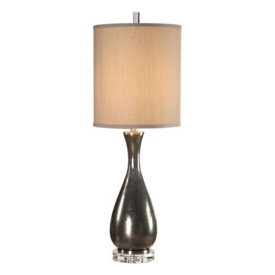 Buy table lamp shades in blue from bed bath beyond uttermost meara buffet lamp in metallic bronze aloadofball Images