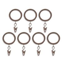 BlockAide Clip Rings in Antique Brown (Set of 7)