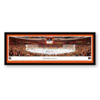 NHL Philadelpia Flyers Panoramic Hockey Arena Print with Select Frame