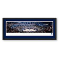 Xavier University Panoramic Basketball Arena Print with Deluxe Frame