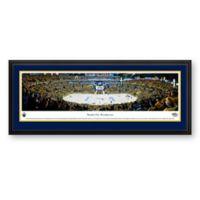 NHL Nashville Predators Panoramic Hockey Arena Print with Deluxe Frame