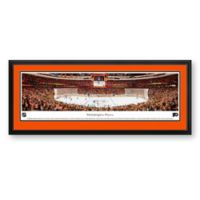 NHL Philadelpia Flyers Panoramic Hockey Arena Print with Deluxe Frame