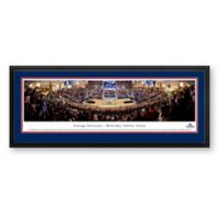 Gonzaga University Panoramic Basketball Arena Print with Deluxe Frame
