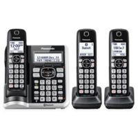 Link2Cell Bluetooth® Cordless Phone with 3 Handsets and Answering Machine