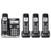 Link2Cell Bluetooth® Cordless Phone with 4 Handsets and Answering Machine