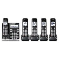 Link2Cell Bluetooth® Cordless Phone with 5 Handsets and Answering Machine